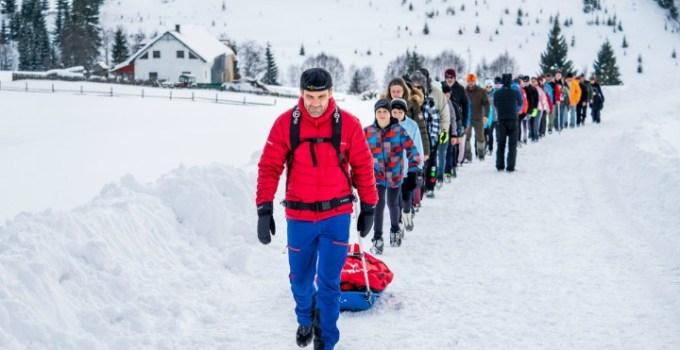 """Succes, Tibi Useriu! Mani Gutau: """"In cateva minute se va da startul Yukon Arctic Ultra. Tibi Useriu e din nou la start, alearga ca si anul trecut pentru Via Transilvanica si Tasuleasa Social...."""" 1"""