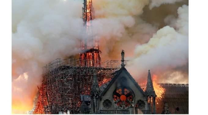 Cauza incendiului Catedralei Notre-Dame. Declarația unui oficial al poliției 1