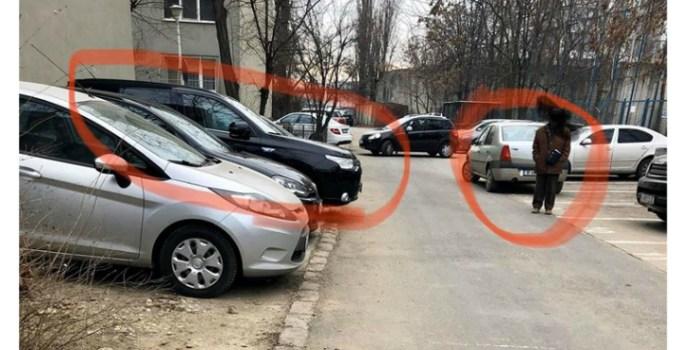 """Bogdan Ocnaru: """"Dumnezeule! De ce mai conduc oamenii ăștia? N-am apucat sa-mi întorc privirea, ca-am auzit o bubuitura. Loganul a ieșit din parcare și și-a văzut de drum. Colegul operator o ia la fuga si ii bate in geam soferului"""": 19"""