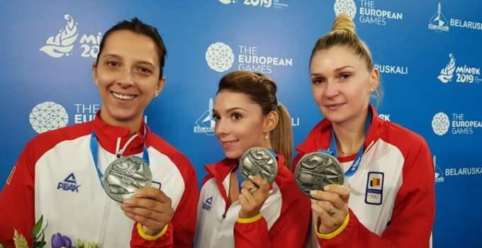 FELICITĂRI! România, medalie de argint la tenis de masă în cadrul Jocurilor Europene care se desfășoară la Minsk 3