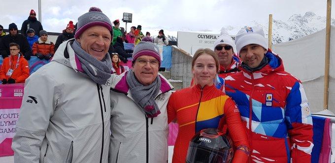 (Foto) FELICITĂRI! România are aur la Jocurile Olimpice de Tineret! Georgeta Popescu e campioană olimpică! 2