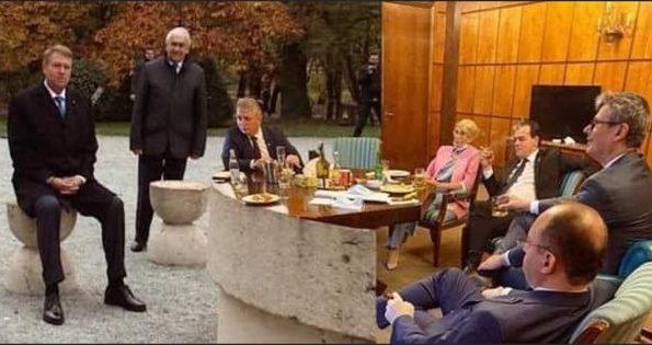 """(MEME) Vlad Voiculescu: """"Vorba lui Ciprian: au fumat dar au și băut. M-am enervat și eu... la fel cum mă enervam când mai găseam pe cineva care fuma prin vreun birou în 2016, considerând că legea e doar pentru fraieri. Am adunat pentru dumneavoastră trei fotografii ..."""" 4"""