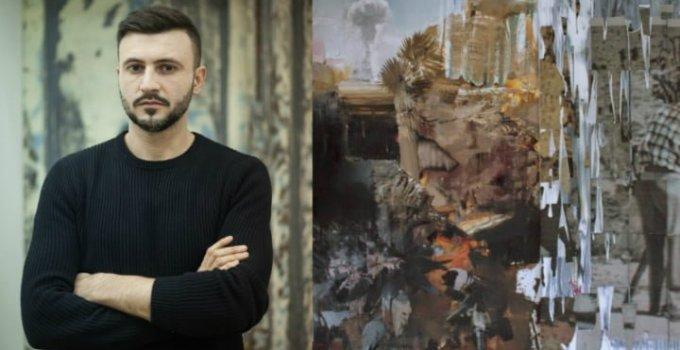 Pictorul român Adrian Ghenie a vândut două tablouri cu peste 3 milioane de euro. Vezi cum arată picturile: 5