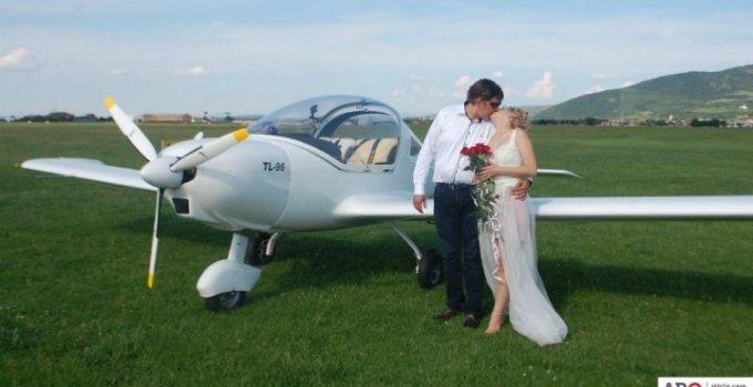 (Video) Nuntă pe un aeroport din România. Spectacol Aviatic 7