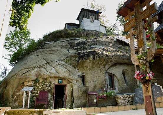 cetatuia-negru-voda-stone-hermitage-monastery-romania-eastern-europe