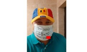 """Functionar public, simpatizant PSD: """"Iohannis, sa-mi sugi p***"""". Mesaj pe mască 61"""