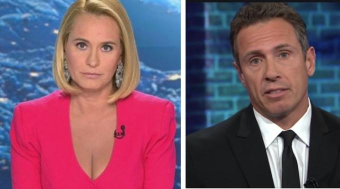 """Andreea Esca vs Chris Cuomo. Andrei Caramitru: """" Chris Cuomo de la CNN, a luat virusul. Zilnic a făcut live-uri deși se simțea foarte rău. Toată lumea a văzut cum te afectează nenorocirea asta. La noi - Esca a luat și ea, din păcate. Insa nu a dat nici măcar un mesaj ceva. Nimic. Tăcere totală"""" 1"""