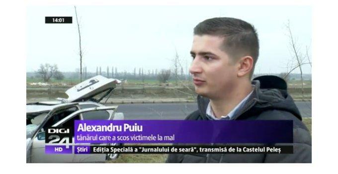 (Video) El este românul-EROU care a sărit în apa rece să salveze un copil de 8 ani de la înec în timp ce alţi şoferi filmau accidentul ori stăteau la discuții. Vezi aici Video cu salvarea copilului: 7