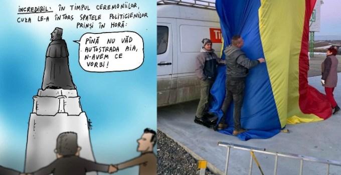"""Ștefan Mandachi: """"Nu facem hora unirii. Vă aștept la Primul metru de autostradă din Moldova!  Vom face hore doar când vom avea autostradă!!!"""" 7"""