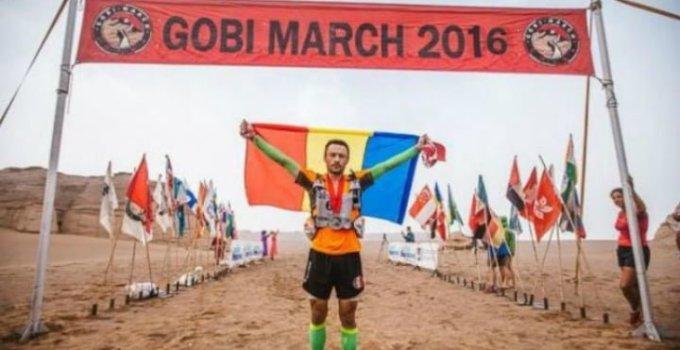 Felicitări! Un pompier român a reușit să străbată în alergare deșertul Gobi. A terminat pe locul patru în cursa infernală de 250 de kilometri 6