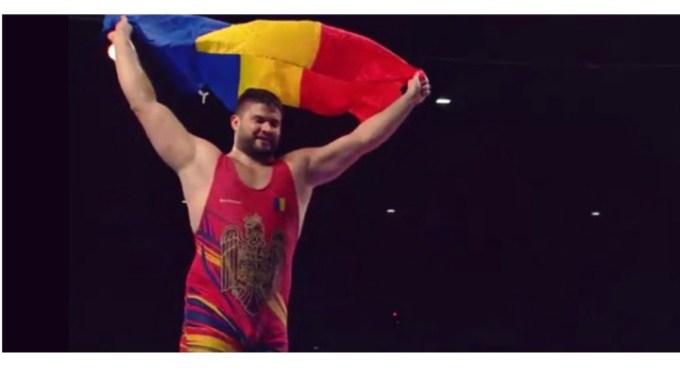 FELICITĂRI! Medalie de aur pentru Alin Alexuc, campion european la lupte greco romane, categoria 130 kg! 1