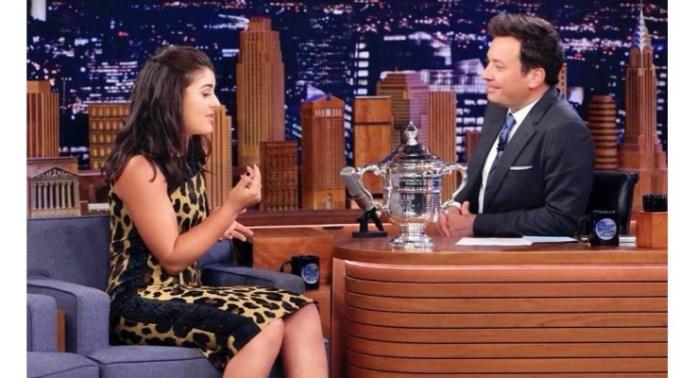 (Video) Bianca Andreescu a făcut senzaţie la un talk show din America. Cine nu a felicitat-o după triumf, deși și-ar fi dorit 1