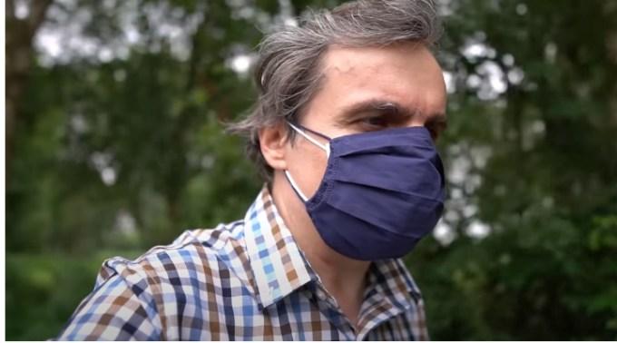 """Fizicianul Cristian Presura amenințat după videoul cu masca: """"Suficient sa imi faca iar sufletul amar"""" 1"""