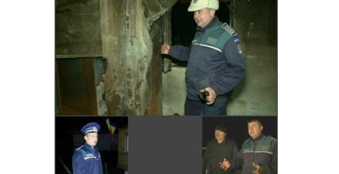 Eroii zilei în România! Ei sunt cei 3 polițiști care au salvat 3 copii de tatăl lor care le dăduse foc în casă. Voia să-i ardă de vii! 5