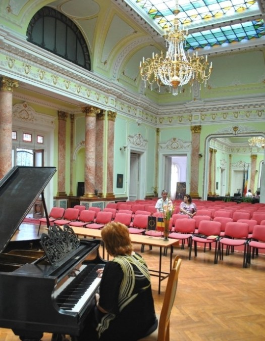 palatul marincu Art museum Calafat Romania palace