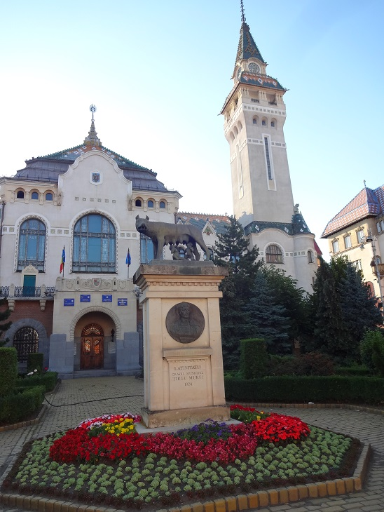 "Statuia ""Lupa Capitolina"" (Târgu Mureș)"