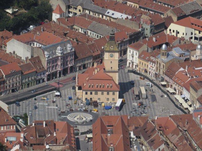 Piața Sfatului și Primăria veche (Brașov)