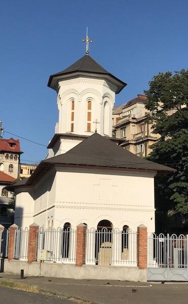 """Biserica """"Scaune"""", cu dublu hram –""""Naşterea Maicii Domnului"""" şi """"Adormirea Maicii Domnului"""" (Bucureşti)"""