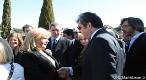 Madrid: Ion Vîlcu prezent la comemorarea victimelor atentatelor din 11 martie 2004