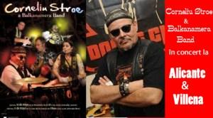 Corneliu Stroe & Balkanamera Band în concert la Alicante