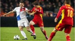 Preliminarii CM 2014, Olanda - România 4-0