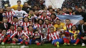 Atletico Madrid este noua regină a Cupei Spaniei
