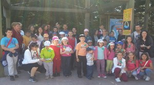 Copiii românilor din Brunete, Villanueva de la Cañada şi Mostoles în vizită la Faunia