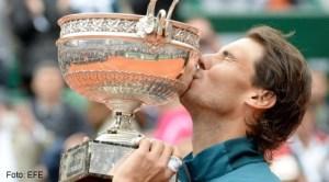 Record! Rafa Nadal a câştigat pentru a opta oară turneul de la Roland Garros!