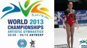 CM de gimnastică: Larisa Iordache, locul 4 la individual compus