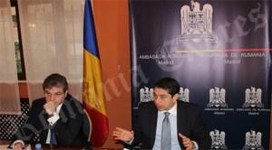 Vizita în Spania a ministrului delegat pentru românii de pretutindeni, Cristian David