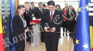 Titus Corlăţean a inaugurat noua Secţie Consulară de la Madrid