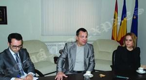 Noul ministru delegat pentru românii de pretutindeni, Bogdan Stanoevici, la prima sa vizită în Spania