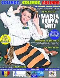 De Moş Nicolae, maramureşeana Maria Luiza Mih vine în Spania pentru a le cânta românilor din Madrid