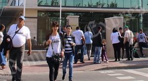 Traducători în faţa Consulatului de la Madrid