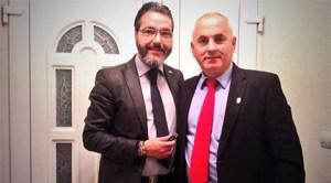 Borja Gutierrez şi Traian Ciurdaş