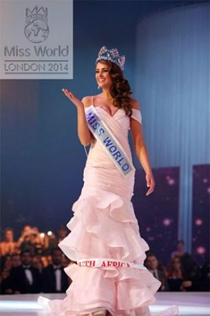 Rolene Strauss, noua Miss World