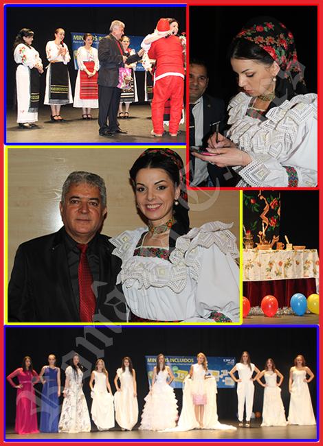 Secvenţe de la concertul Mariei Luiza Mih în Arganda del Rey