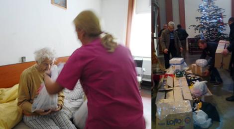 De sărbători, românii din Catalonia au trimis cadouri persoanelor din azilele din Romania