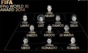 Echipa ideală 2014