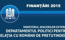 DPRRP a publicat rezultatele celei de-a doua sesiuni de finanţare a anului 2015