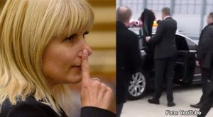 Elena Udrea, gest controversat la finalul discursului din Parlament vs Klaus Iohannis, gest protocolar bine gândit
