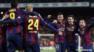 """FC Barcelona se impune cu 2-1 în """"el clasico"""" şi se distanţează la patru puncte de Real Madrid"""