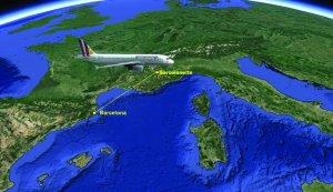 Un avion Airbus A320 al companiei germane Germanwings s-a prăbuşit în Alpii francezi