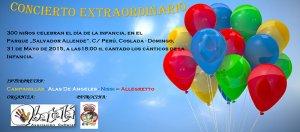 Afiş Ziua Copilului 2015 - Coslada