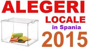 Alegeri locale în Spania 2015