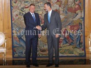 Klaus Iohannis şi Regele Felipe al VI-lea