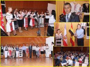 Secvenţe de la spectacolul Descoperă România- Tradiții și obiceiuri, organizat în Tres Cantos