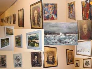 Tablouri la Expoziţia de pictură româno-spaniolă de la Casa de Cantabria