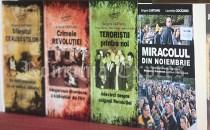 """Cartea """"Miracolul din noiembrie"""" prezentată în Spania de jurnaliştii Grigore Cărtianu şi Laurenţiu Ciocăzanu"""