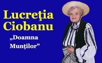 Îndrăgita interpretă de muzică populară Lucreţia Ciobanu s-a stins din viaţă